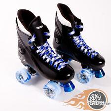Ventro Pro Turbo Quad Roller Skate, Bauer Style -  Blue