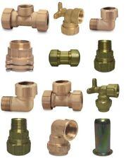 PE Messing Fittinge DVGW - PE Rohr Messing Klemmfitting Trinkwasser Fitting NEU