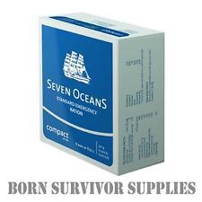 Seven Oceans SOS Emergency Food Ration Biscuits - Lifeboat Liferaft Survival Kit