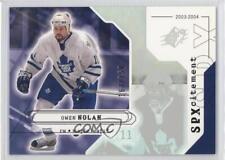 2003-04 SPx #150 Owen Nolan Toronto Maple Leafs Hockey Card