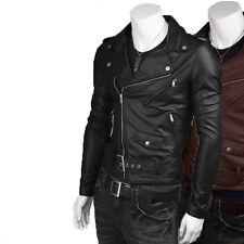 US Men Leather Jacket Hommes veste cuir Herren Lederjacke chaqueta de cuero M17