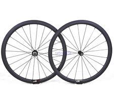 1390g Sapim Clincher Tubeless 38mm Carbon Wheel 23mm Road Bike 700C 3k Matt Rim