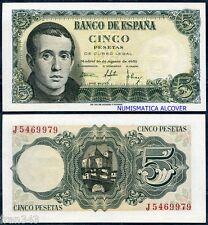 5 pesetas año 1951 JAIME BALMES - SC /  Spain Pick 140 - UNC