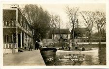RPPC NY Henderson Harbor Inn Men in Boat with Fish