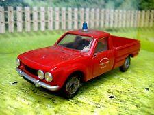 1/43 Peugeot 504 Fire  (France)  (handmade)