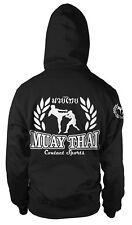 Gorilla Fighter Homme Arts Martiaux à Capuche Gym MMA Haut D/'Entraînement Muay Thai Boxing