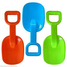 Childrens Large Spade Plastic Sand Shovel Beach Scoop Toy  NEW
