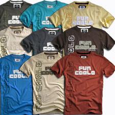 T-shirt Uomo manica corta, vintage, cotone 100%, maglietta Fun Coolo MT2 ricamo