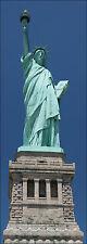 Papel pintado para puertas trampantojo decoración Estatua de la libertad