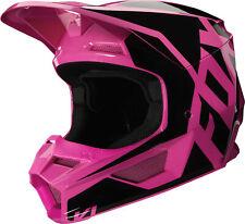 Fox Racing V1 Prix MX Offroad Helmet Pink