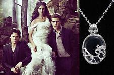 The Vampire Diaries Katherine Anti-sunlight Lapis Blue Necklace *USA Seller*
