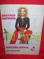 ANNA ARAZZINI Una cosa normale 1969 ROBERTO VECCHIONI Spartiti Sheet Music