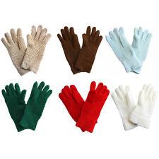 Sonia Originelli Fingerhandschuhe Teenager Kinder Fasching Strick Uni Neu