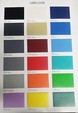 Pavimento in PVC etrogeneo tinta unita UNIFLOOR spess. 2mm, a ROTOLO- € 21,90/mq