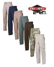 TRU-SPEC 24/7 Tactical Pants 28-38W 30-36 Length RipStop Cotton Blend