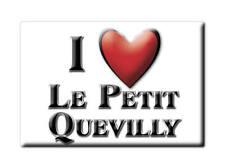 MAGNETS FRANCE - NORD PAS DE CALAIS I LOVE LE PETIT QUEVILLY  (SEINE MARITIME)