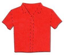 20 Die cut summer shirt accucut holiday hawaiian 4.5x5cm card making football