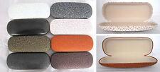 C9 Reading Glasses Case/PVC Faux Leather Cover/Delicate Vintage Pattern Designed