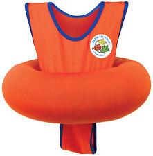 Poolmaster Inflatable UPF 50 Learn-To-Swim Swim Tube Trainer Orange Blue - 95203