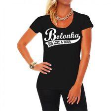 Frauen Damen T-Shirt Bolonka Zwetna Hunderasse Züchter Welpen Bichon hund