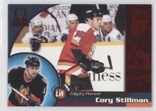 1998-99 Pacific Omega Red #35 Cory Stillman Calgary Flames Hockey Card