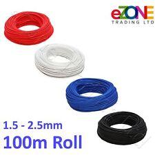 Restauration haute température Wire 200 ° résistant à la chaleur en fibre de verre Câble 100 m Rouleau