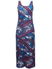 Miss Milla impresión azul vacaciones perfectas lado Split Maxi Vestido sólo £ 8.99 Gratis P&P
