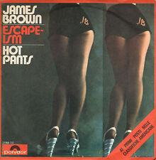 JAMES BROWN escape-ism / hot pants 45 RPM ITALY 1971 Funk
