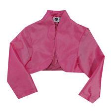 %Eisend Jacke Bolero Pink Mädchen Gr.110,116,122,128,134,140,146,152 NEU!!