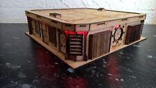 Almacenamiento facilty Warhammer 40k wargame Infinity terreno edificio productos Legión
