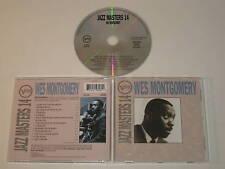 WES MONTGOMERY/JAZZ MASTERS 14 (VERVE 519 826) CD ALBUM