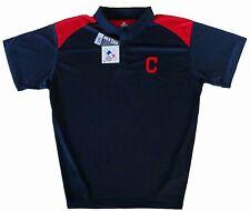 Cleveland Indians Majestic MLB Shoulder Golf Polo Shirt Big & Tall Sizes NWT