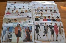 Vogue Sewing Patterns Designer Wardrobe DKNY Klein Oscar de la Renta VTG UNCUT