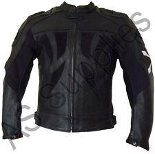 """""""Havoc"""" Nexus Nuevo negro cuero Biker moto chaqueta-todos Los Tamaños!"""