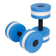 2x Water Aerobics Dumbbell Medium Aquatic Barbell Aqua Fitness Pool Exercise