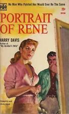 PORTRAIT OF RENE by Harry Davis (1957) PL Eagle pb