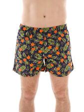 CMP Boardshort Surfshort Swimwear blau Ananasmotiv Blumen Schnürung