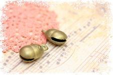 campanellini misura 2cm x 3,2cm color oro antico ciondoli-charms-pendente