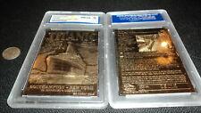 TITANIC  23K  GOLD BAR TABLET CARD