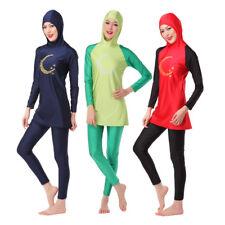 Women Muslim Full CoverSwimwear  Islamic Modest Swimsuit  Arab Burkini Beachwear
