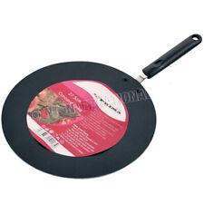 CONCAVE TAWA FRY COOKWARE HANDLE CHAPPATI NON STICK PAN CREPE PANCAKE ROTI NAAN