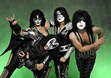 Kiss 3 Pesante Rock Band Poster Stampa A4 A3