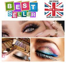 Brillante Diamante Sombra de Ojos Paleta Maquillaje Cepillo Brillo 9 Colores Nuevo Conjunto de Belleza
