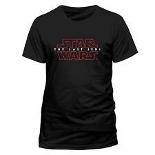 Star Wars T Shirt The Last Jedi Episode 8 Logo Mens Official Licensed Unisex NEW