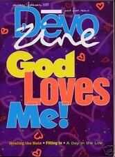 8 copies of Devo'zine January/February 2001 God Loves Me/Healing