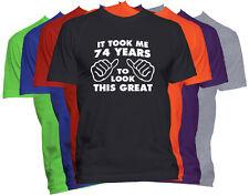 74th Birthday Shirt Happy Birthday Gift Customized Birthday T-Shirt