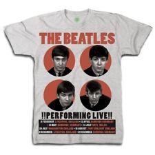 The Beatles Men's Performing Live T-shirt
