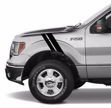 "2""&3"" Fender Truck Hash Bar vinyl Racing Stripes (Fits Ford F-150 F-250 F-350)"