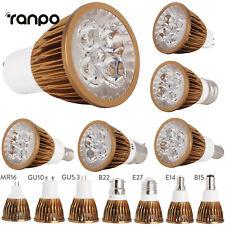 Dimmable LED Spotlight Bulbs GU10 MR16 E27 E14 GU5.3 B22 110V 220V 12V Home Lamp