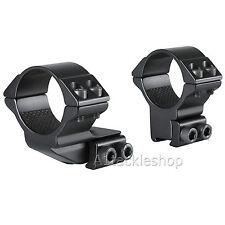 "Hawke 30mm Scope Mounts 9mm - 11mm Rail select 1"" or 2"" Reach Forward"